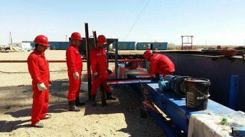 钻井工序   一般井型井身结构设计,直井钻井一开钻头φ311.