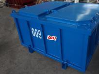 海洋钻井平台废物箱